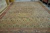 "Bidjar Oriental carpet (some wear, small edge hole, small patches). 12'4"" x 16'3"""