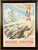 GROSSER BERGPREIS LITHOGRAPH GERMANY C.1939