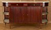 FRENCH LOUIS XVI STYLE MARBLE TOP SIDEBOARD C1900