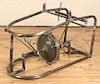 VINTAGE INDUSTRIAL IRON MECHANICAL TABLE BASE