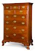 Chester County, Pennsylvania Chippendale tall chest