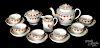 Pearlware tea service