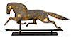 Cushing & White copper horse weathervane