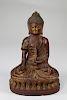 Early Antique Bronze Bhaisajyaguru Buddha
