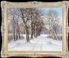 European School, Antique Winter Landscape