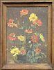 V. Appel, 1936 Still Life Painting of Flowers