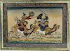 Painting of Mongolian Battle Scene