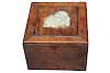 Antique Chinese Wood/Jade Box,  Possibly Huali
