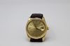 Vintage Rolex Oyster Perpetual 14K Gold Men's Watch