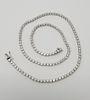 18K White Gold & Diamond Necklace