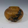 CHINESE PEKING GLASS WATER POT - QIANLONG MARK