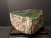 "OLD Large Chinese Green Jade Rough, 13 lbs, 6""x6""x4"""