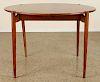DANISH STYLE FLIP TOP GAMES TABLE CIRCA 1950