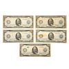 5-1914 $50 Fed Reserve Notes Fr.1032 Blue Seals