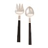 Modern Sterling Salad Fork & Spoon by Zacho