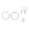 A Trio of Pearl Earrings in 14K Gold