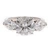 An Impressive 3.75ct Diamond Ring in Platinum
