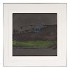 "Helen Frankenthaler. ""Broome Street at Night."""