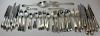 STERLING. Dominick & Haff Pointed Antique Flatware