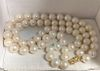 South Sea Pearl 18K Double Strand Choker Necklace