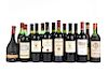 Vinos Tintos de España, Francia, Italia y Chile. Margaux, Château Lafite Rothschild, Fortin Plaisance. Piezas. 15.