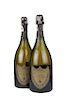 Cuvée Dom Pérignon. Vintage 1985. Brut. Champagne. Moët et Chandon á Épernay. Piezas: 2.