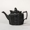 Eastwood Black Basalt Teapot and Cover