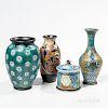Four Gouda Pottery Items