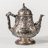 George Sharp Coin Silver Coffeepot
