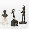 Three Grand Tour Bronzes