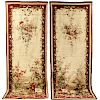 "Pair of Aubusson ""Portiere"" Panels"