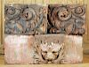 THREE PIECES 19TH CENTURY ARCHITECTURAL ELEMENTS