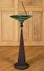 TOM TORRENS PATINATED COPPER AND IRON SUNDIAL