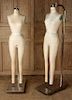 PAIR SUPERIOR MODEL FORM MANNEQUINS