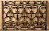 CAST IRON GARDEN PANEL CIRCA 1900