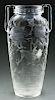 Intaglio Carved Vase.