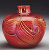 Tiffany Favrile Decorated Vase.
