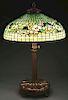 Tiffany Studios Dogwood Table Lamp.