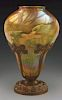Rare Tiffany Studios Floral Stalactite Shade with Mount.