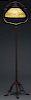 Tiffany Studios Acorn Floor Lamp.