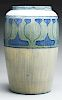 Marie Odell Delavigne, Newcomb College Large Early Pottery Vase.