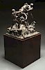 19th Century Farnese Bull Bronze Sculpture.