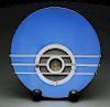 Art Deco Sparton Blue Mirrored Radio.