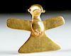 Stunning Panamanian Gold Eagle Pendant, 19.3 g