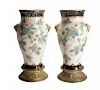 Pair of Sevres Pate-Sur-Pate Vases by Dammouse