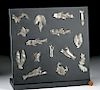 15 Sican-Lambayeque Silver Animal Votive Objects