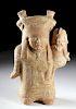 Veracruz Nopiloa Pottery Mother & Child, ex Sotheby's