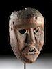 Very Fine Mid-19th C. African Dan Wood Kagle Mask