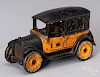 Arcade cast iron Yellow Cab Co. taxi bank