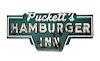 Circleville Ohio Puckett's Hamburger Inn Neon Sign